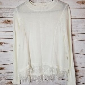 SO sweater size small